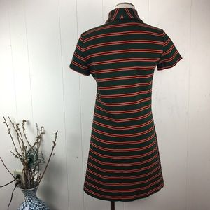 Vintage Dresses - Vintage Jonathan Logan Green & Orange Mod Dress